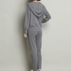 P18B065BE women's winter cashmere sports fashion sweater and pants suits