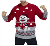 15CSU024 Unisex ugly high quality knitted christmas sweater