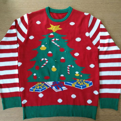 14STC8017 Funny Ugly Christmas Sweater