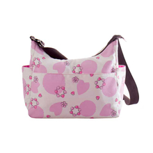 stylish affordable pink and black designer diaper bags for girls