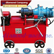 220V electirc power professional rebar thread rolling machine