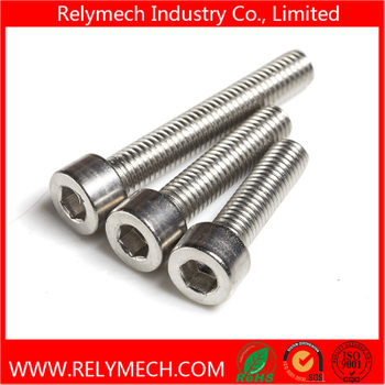 Stainless Steel Hex Socket Cup Head Bolt Machine Screw M1 6-M20