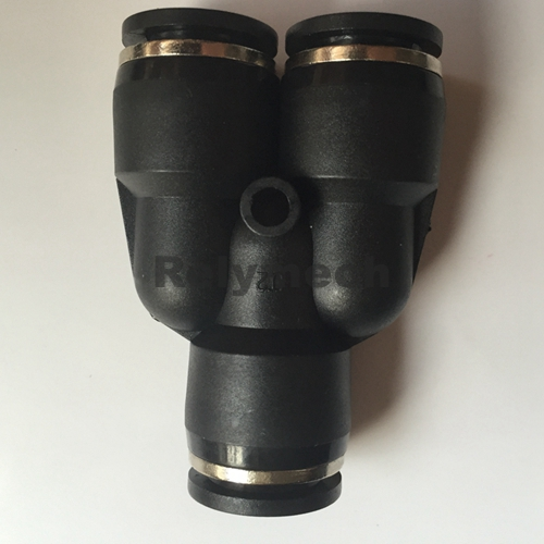 Py Union Y Pneumatic Fitting for Tube Connection (PY04~12)