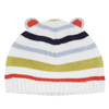 P18B031BE kids winter holiday merino wool jacquard design knitted custom beanie