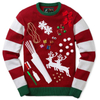 15JWK010 jacquard kids christmas sweater