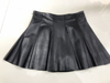 2019 women new design leather skirt high quality sheep leather mini skirt