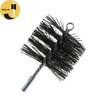 C02 Round Chimney Sweep PP Brush With Thread