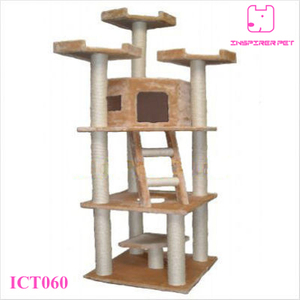 "80"" Cat Tree Condo Furniture Scratcher Post"