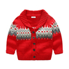 Wholesale kids ugly christmas sweater holiday winter cardigan