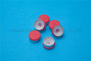 20mm Flip off cap with silicon stopper