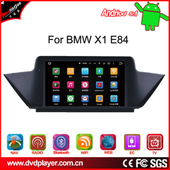 "BMW X1 E84 CIC 8"" Android 8 Touchscreen GPS Navigation Multimedia WIFI USB 4G + I-Drive"