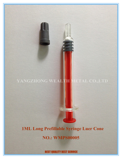 1ml Luer Cone Prefilled Syringe (Long)