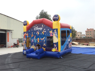 RB2009(4x4m) Inflatables Small Disney Combo For Amusement