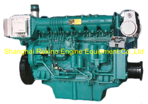 580HP 1350RPM Weichai medium speed marine diesel engine (X6170ZC580-3)