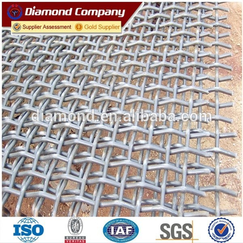 Low price stainless steel fine mesh screen / vibrating stainless steel screen mesh