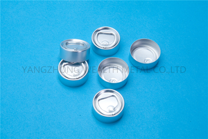 32mm Aluminum pull ring off cap