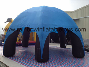 RB41003(8x8m) Inflatable Blue Dome Tent For Outdoor Advertising Event