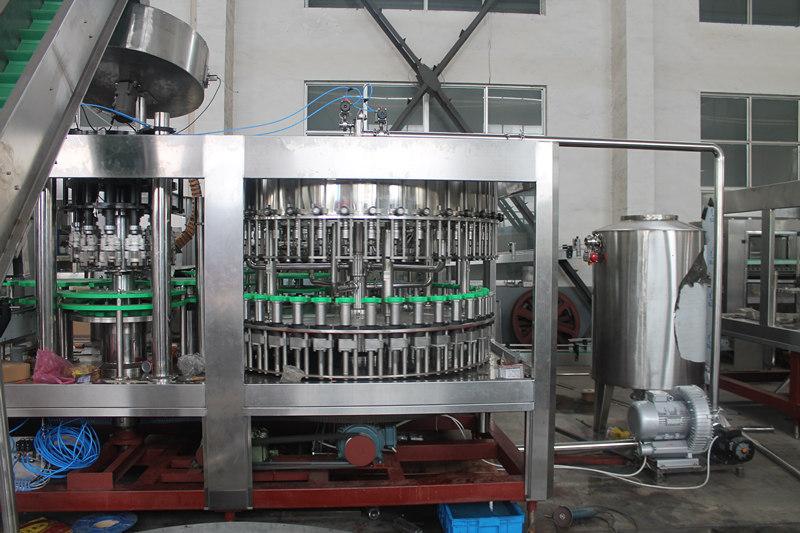 glass bottling machine