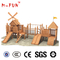Children plastic outdoor play set