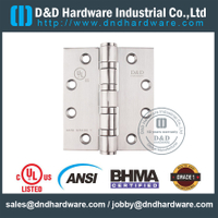 ANSI / BHMA GRADE 1 Heavy Duty 4 BB dobradiça com UL Fire-rated para Metal Door- 4.5x4.5x4.6mm-4BB