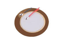 Piezo diaphragm 18mm-3B18+5.0EAWO