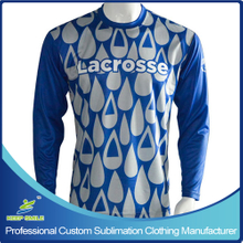 Custom Sublimation Boy's Lacrosse Clothing for T-Shirts