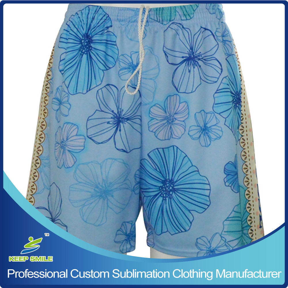 Custom Made and Sublimation Girl's Lacrosse Game Short