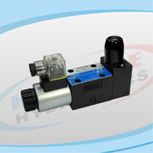 4WEJ Series Solenoid Operated Directional Control Valves with Spool Position Detector