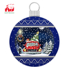 Giant Christmas Ball with Led Lighting and music for Wall Decoration