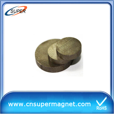 High Quality D10*5 mm SmCo Permanent Magnet