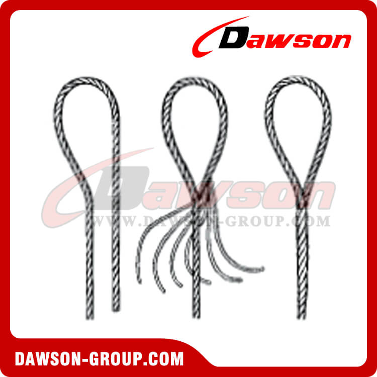 Ws81 E E T Th S Amp K Tapered Eye Splice Wire Rope Slings