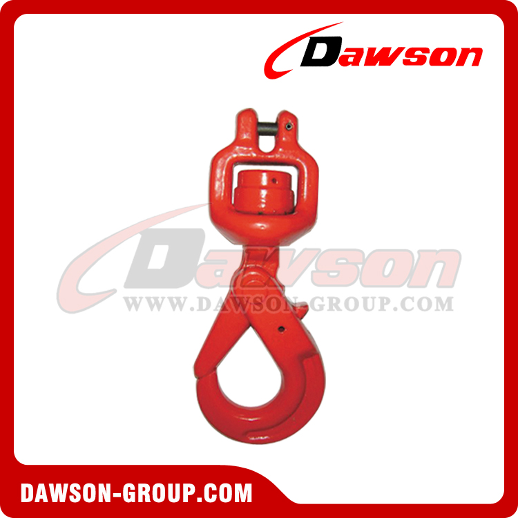 DS007 G80 CLEVIS SWIVEL SELFLOCK HOOK WITH BEARING - DAWSON GROUP LTD. - CHINA SUPPLIER