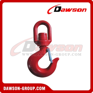 G80 / Grade 80 Swivel Hook with Bearing for Lifting Chain Slings