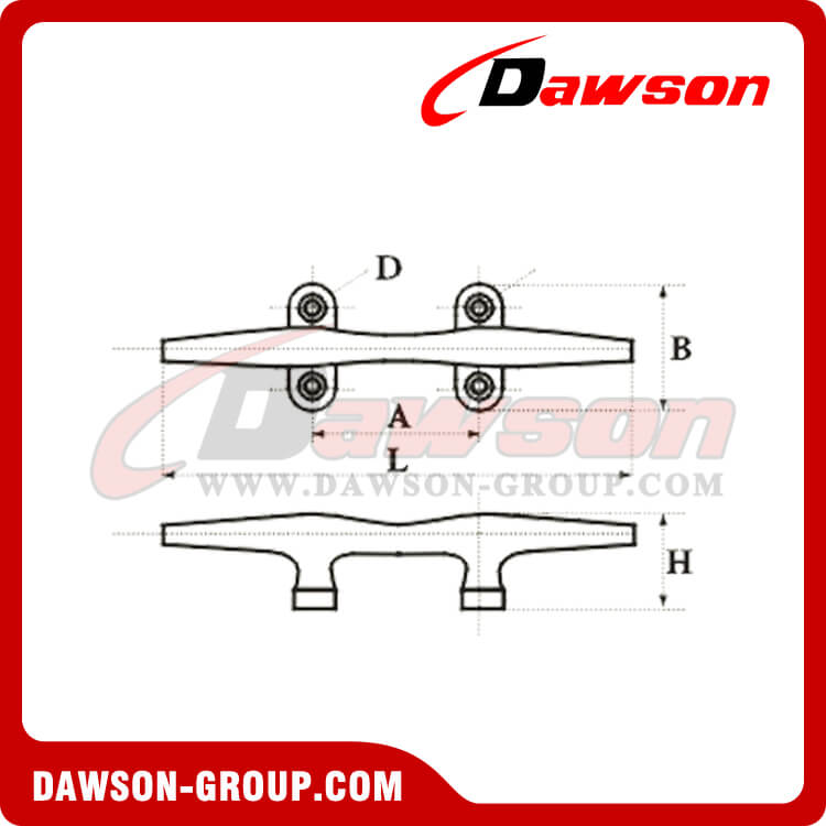 STAINLESS STEEL CLEAT - Dawson Group Ltd. - China Manufacturer, Supplier, Factory, Exporter