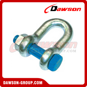 AS2741 Forged Alloy Grade S Dee Shackle With Safety Pins