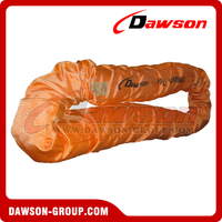 WLL 80T Polyester Round Slings