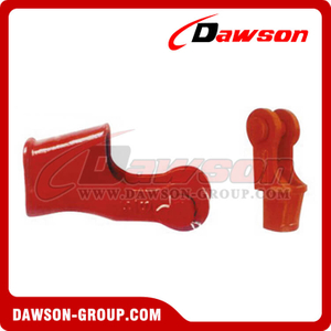 American Standard Wedge Joint, Open Wedge Socket with Bolt Nut and Safety Pin