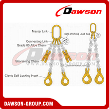 Grade 80 Double Leg Chain Sling / G80 Double Leg Chain Sling for Lifting & Lashing