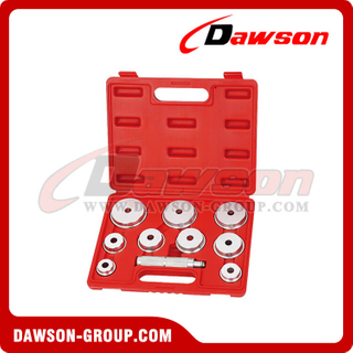 DSHS-E2010 Brake & Wheel Repair Tools 10 PCS Bearing Race And Seal Driver Set