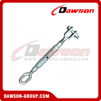 Hot Dipped Galv. Rigging Screw Jaw and Eye Turnbuckle with Stud Nut