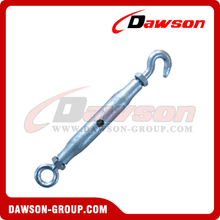DIN 1478 Turnbuckle Pipe Body Type Eye & Hook