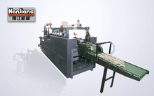 WFD100-2 Right Angle Flat-belt Paper Handle Making Machine