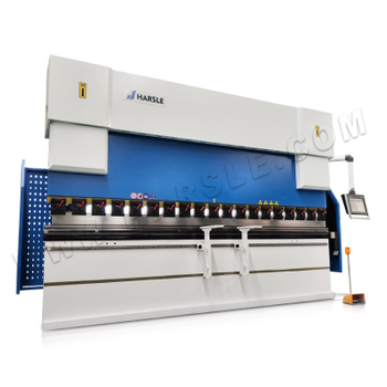 WE67K-200T/4000 Hydraulic CNC Press Brake with DA-58T, hydraulic sheet bending, 2D graphic control