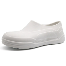 White Slip Resistant Waterproof PU Kitchen Chef Work Shoes