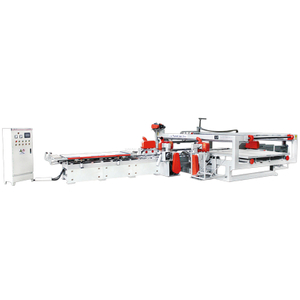 Double Edge Vertical and Horizontal Trimming Saw for The Plywood Board