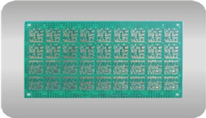 0.6mm 4 Layer Immersion Gold PCB 1OZ