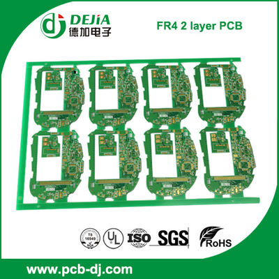 FR4 2 layer PCB with immersion Gold