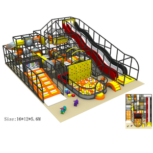 Indoor plastic playground structure for sale