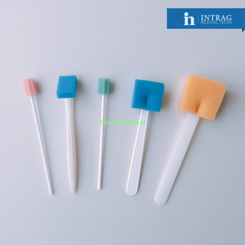 Dentist Foam Sponge Oral Swab