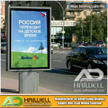 Outdoor Double Sided Digital LED Scrolling Advertising Light Box